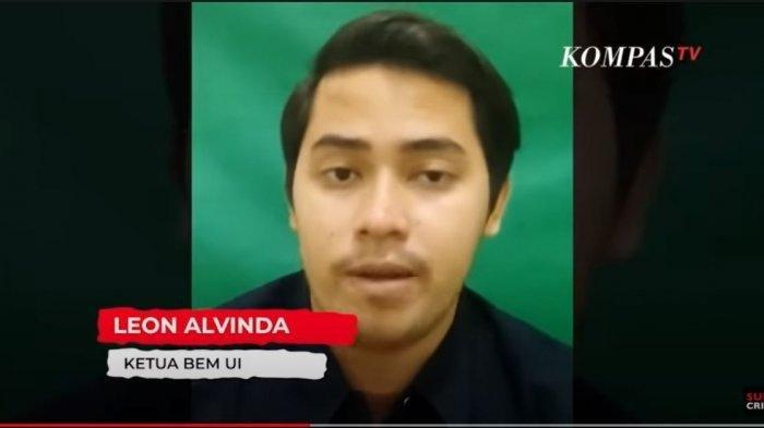 Ramai Julukan Jokowi sebagai The King of Lip Service, Ini Sosok Presiden BEM UI Leon Alvinda Putra