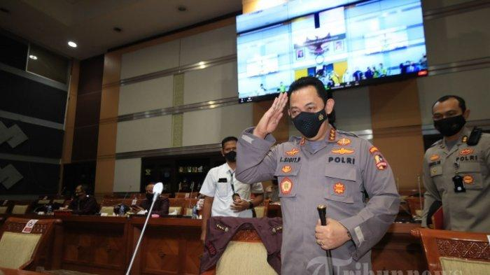 Surati Jokowi, Kapolri Minta Izin Tarik 56 Pegawai KPK yang Dipecat Jadi ASN di Bareskrim Polri