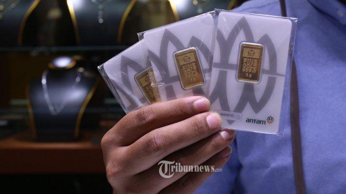 Harga Emas Antam di Pegadaian Stagnan di Level Rp 1.968.000 per 2 Gram pada 16 November 2020