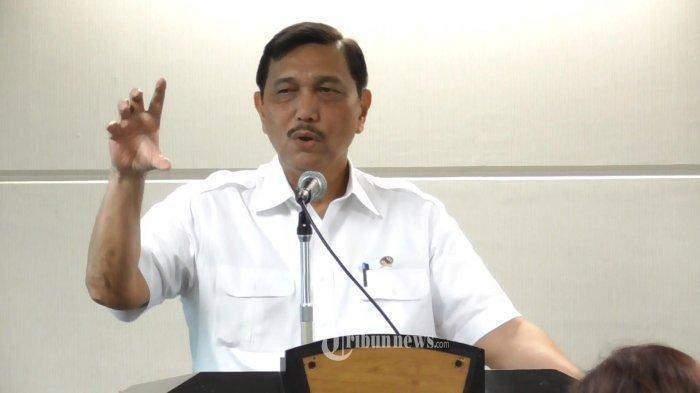 Menteri Koordinator Kemaritiman RI, Jend. TNI. Purn. Luhut Binsar Panjaitan.