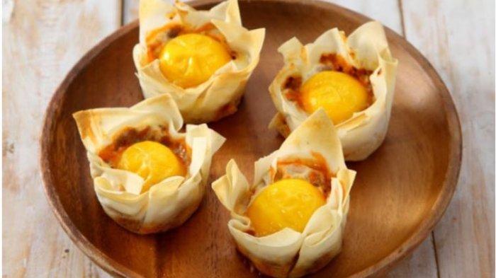 Resep Buka Puasa Sajian yang Praktis dan Lezat, Mangkuk Telur Daging dan Samosa Keju Mayo