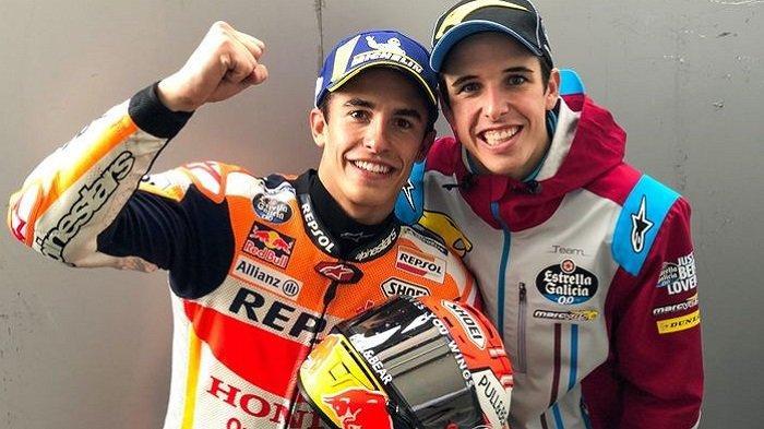 Marc Marquez Beri Tips Jitu Alex Marquez Agar Piawai Kendalikan Motor Honda, 'Harus Sering Jatuh'