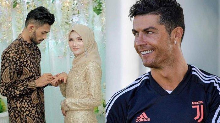 Cristiano Ronaldo Sudah Berikan Ucapan Selamat Atas Pernikahan Martunis, Bakal Hadir saat Resepsi?