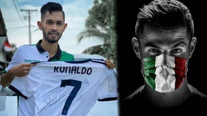 Pasca Gantung Sepatu, Martunis Ingin Kembali Berkarier Sepak Bola di Negara Cristiano Ronaldo