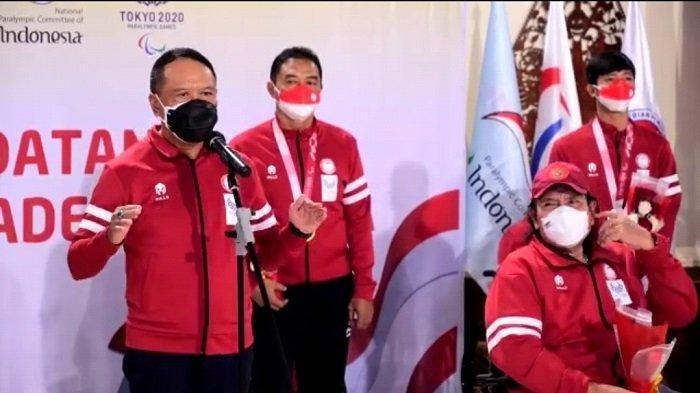Sambut Kedatangan Leani Ratri Oktila Dkk, Menpora: Alhamdulillah Target Tercapai, Bahkan Terlampaui