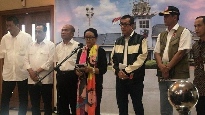 Menlu Retno Marsudi Bantah Isu Pentagon soal China Lirik Indonesia Jadi Pangkalan Militernya