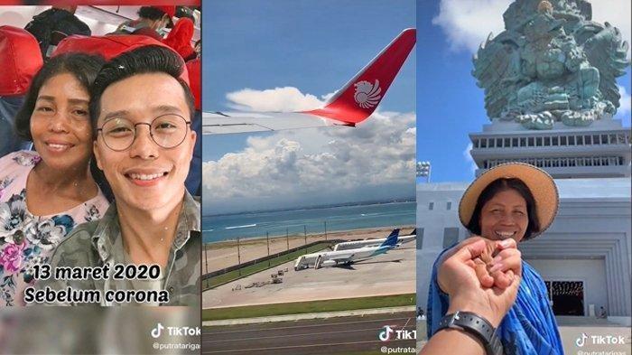 Viral, Rela Menabung Selama 5 Tahun, Anak Ini Akhirnya Wujudkan Mimpi Sang Mama Ingin Naik Pesawat