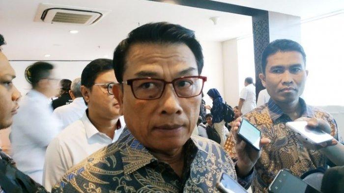 Disebut-sebut Kena Reshuffle Kabinet Jokowi, Moeldoko: Yang Tahu Hanya Presiden