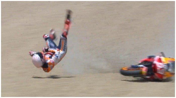 Selama MotoGP 2020, Jumlah Pebalap yang Terjatuh Paling Banyak Ada di Tiga Sirkuit Ini