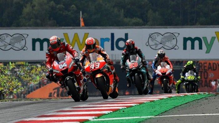 Jadwal Lengkap MotoGP 2020: Akan Digelar Sebanyak 20 Seri, Debut Balapan KymiRing Digelar 12 Juni