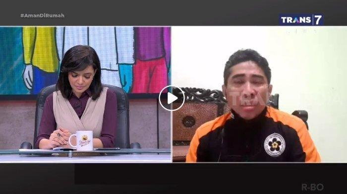 Sopir Ambulans Menangis saat Berbincang dengan Najwa, Ceritakan Perjuangannya Antar Jenazah Covid-19