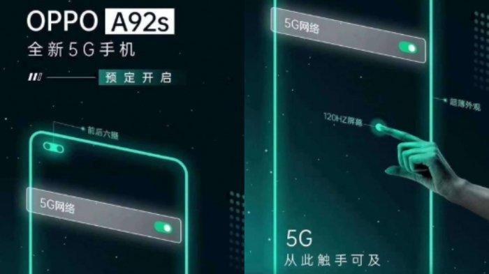 Jadi Ponsel Seri A Pertama Miliki Refresh Rate Layar 120Hz, Ini Bocoran Spesifikasi HP Oppo A92s