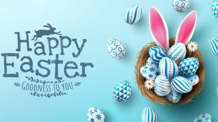 Paskah identik dengan telur, cokelat, dan kelinci.