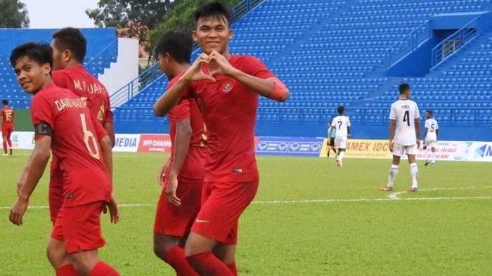 Tanding Sore Ini, Berikut Presiksi Susunan Pemain Timnas U-18 Indonesia Vs Brunei Darussalam
