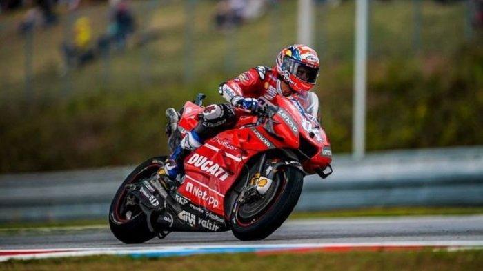 Hasil FP3 MotoGP Thailand: Dovizioso Tercepat, Marquez Tercecer, Rossi Gagal Masuk 10 Besar