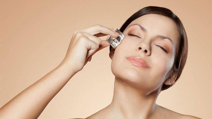 5 Manfaat Es Batu untuk Usir Bopeng dan Jerawat di Wajah, Lengkap dengan Caranya