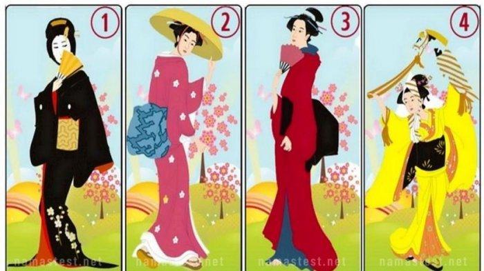 Tes Kepribadian: Gambar Wanita Jepang yang Kamu Pilih Tunjukkan Bagaimana Orang Lain Melihatmu