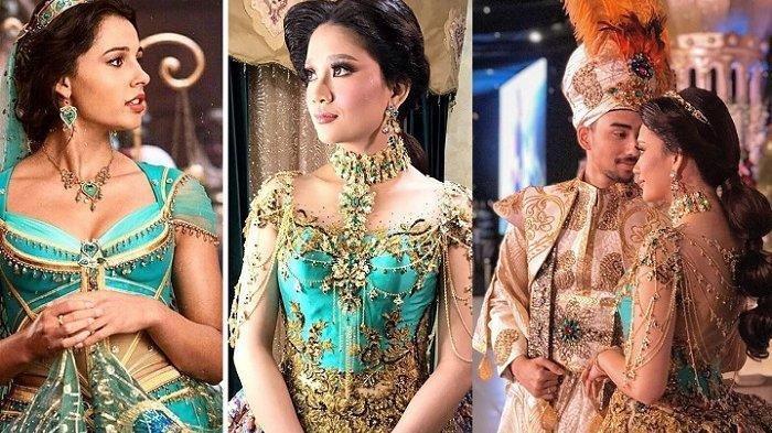 Bak Putri Jasmine! Ini Foto-foto Pernikahan Putri Calon Bupati Jember yang Viral di Media Sosial