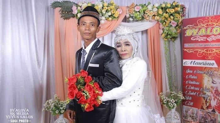 Viral Nenek 65 Tahun Menikah dengan Anak Angkatnya Berusia 24 Tahun, Begini Ceritanya
