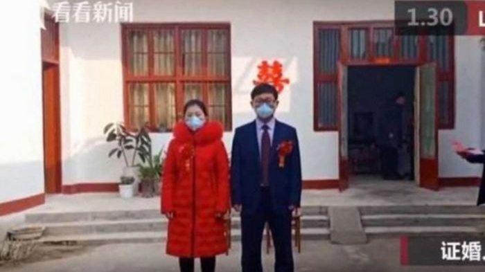 Dokter di China Ini Rela Jalani Upacara Pernikahan Cuma 10 Menit Karna Pasien Virus Corona Membludak