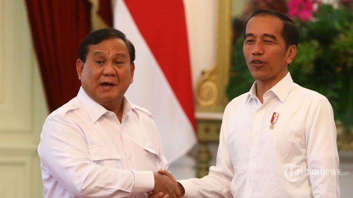 Tak Ingin Disebut Jokowi Sebagai Tamu Besar Pertama, Prabowo: Anak Buah Pak