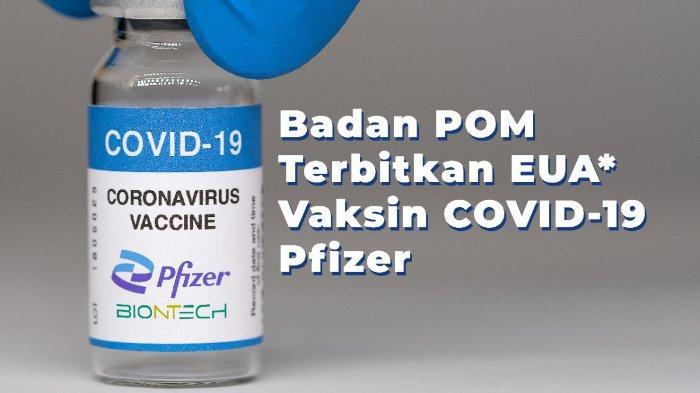 BPOM Izinkan Penggunaan Vaksin Pfizer, Diberikan pada Usia 12 Tahun ke Atas, Ini Efek Sampingnya