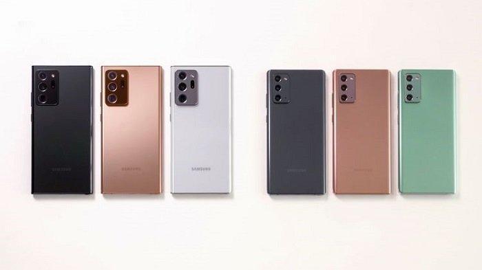 Update Harga Terbaru HP Samsung Bulan September 2020, S20+ BTS Edition hingga Galaxy Note20 Ultra