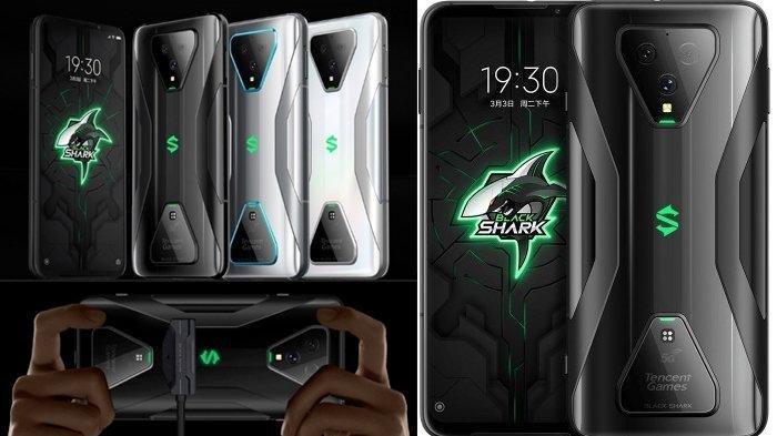 Keren! Cek Harga dan Spesifikasi Ponsel Gaming Xiaomi Terbaru Black Shark 3 & Black Shark 3 Pro Ini