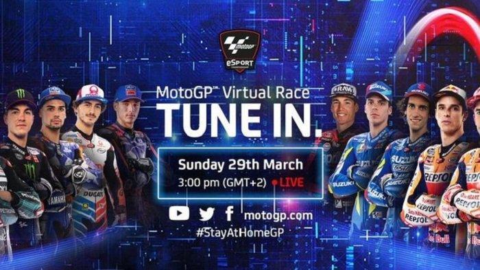 Alex Marquez Juarai Balapan MotoGP Virtual 2020, Fabio Quartararo ke-4 Disusul Marc Marquez