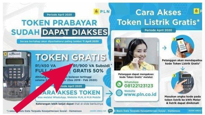 Login www.pln.co.id untuk Klaim Token Listrik Gratis PLN Selama 6 Bulan, Bisa WA di 08122123123