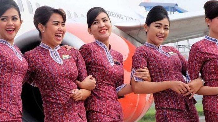 Lowongan Kerja Pramugari/Pramugara, Rekrutmen Lion Air Group, Minimal Pendidikan SMA/SMK