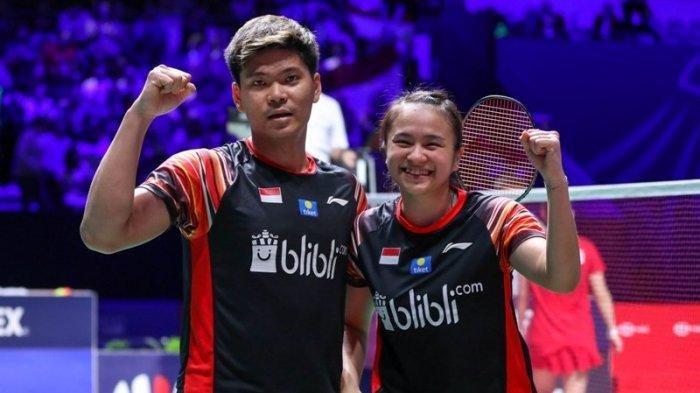 Hasil Bulu Tangkis SEA Games 2019: Tumbangkan Wakil Malaysia, Praveen/Melati Melaju ke Final