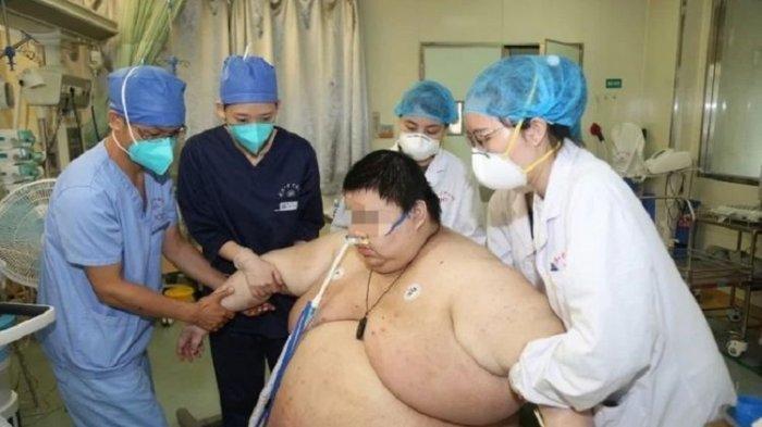 Pria di China Ini Jadi Sorotan, Berat Badan Naik 100 Kg Selama 5 Bulan Lockdown Virus Corona