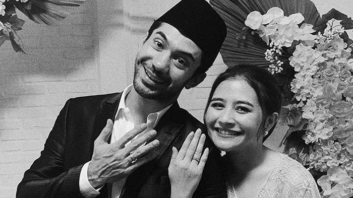 Prilly Latuconsina dan Reza Rahadian.