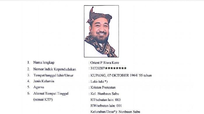 Profil Orient Kore, Bupati terpilih Sabu Raijua, yang ternyata seorang warga negara Amerika Serikat.