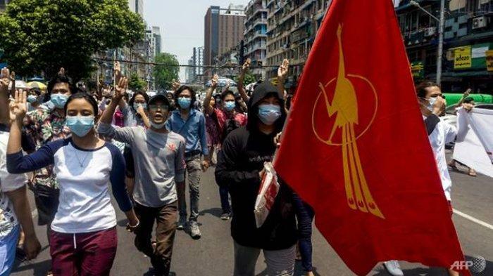Protes Anti-Kudeta Militer, Aktivis Myanmar Serukan Warga Stop Bayar Tagihan Listrik dan Pinjaman