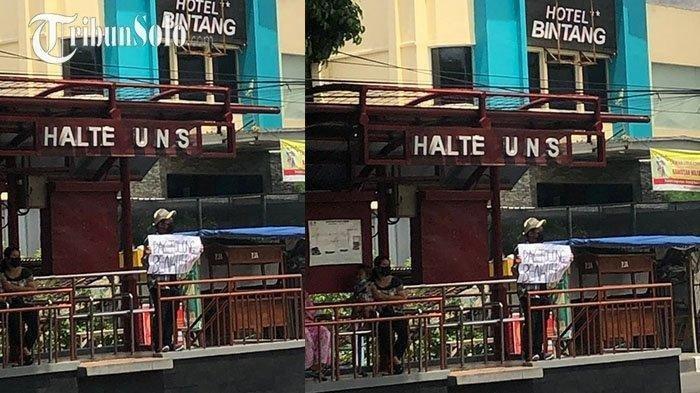 Saat Jokowi Berkunjung di Solo, Mahasiswa yang Bentangkan Poster 'Pak, Benahi KPK' Diamankan Polisi