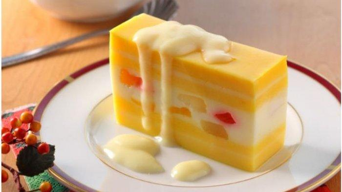 Resep Buka Puasa Praktis Sajian Dessert Enak dan Lezat: Layer Puding Lemon dan Puding Jeruk Koktail