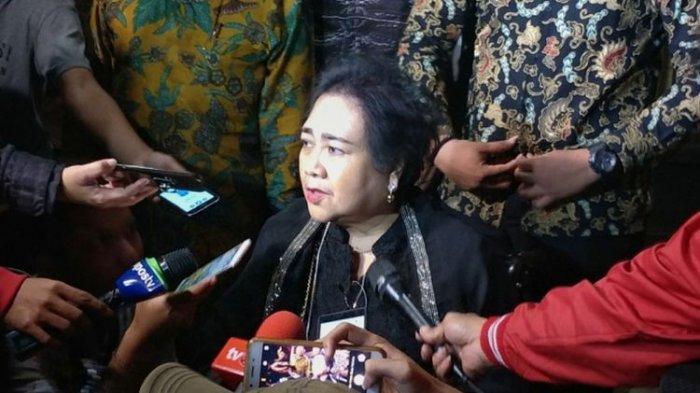 Wakil Ketua Umum Partai Gerindra Rachmawati Soekarnoputri meninggal dunia.