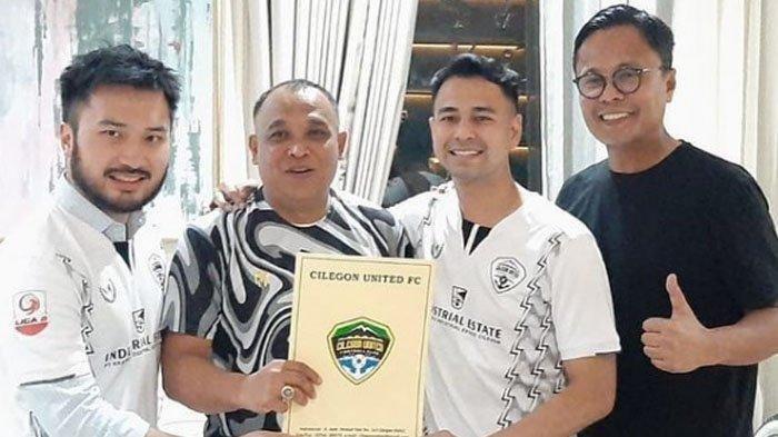 Resmi Akuisisi Klub Liga 2 Cilegon United, Raffi Ahmad Banjir Ucapan Selamat