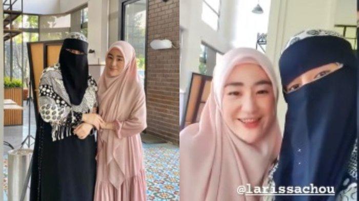 Tak Akur dengan Ibu Alvin Faiz, Larissa Chou Pamer Momen Manis dengan Istri Kedua Ustaz Arifin Ilham