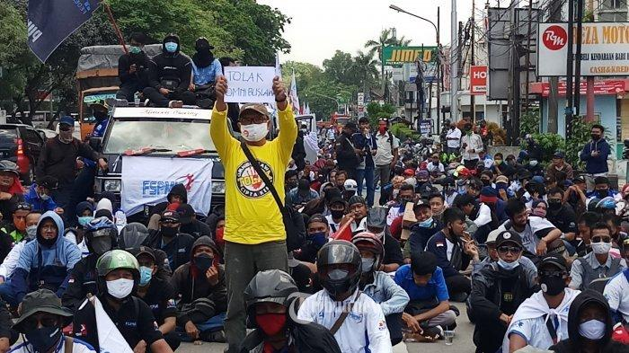 Aksi Unjuk Rasa Bakal Digelar di Istana & Gedung MK untuk Peringati May Day, Libatkan 50 Ribu Buruh