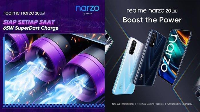 Harga dan Spesifikasi Lengkap Realme Narzo 20 dan Realme Narzo 20 Pro di Indonesia