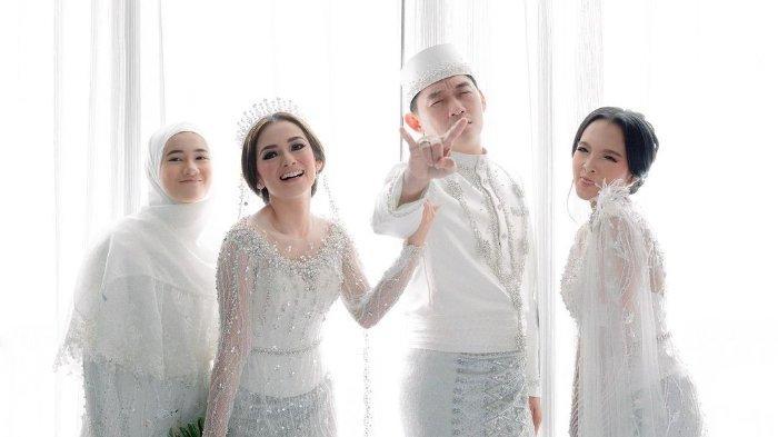 Potret Safa Ricci Amanda, Anak Citra Monica di Momen Pernikahan Ibundanya dengan Ifan Seventeen