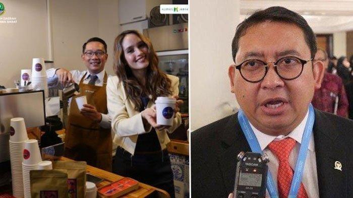 Fadli Zon Sindir Ridwan Kamil yang Pose Bareng Cinta Laura: Harusnya Gubernur Pulang Urusi Banjir!
