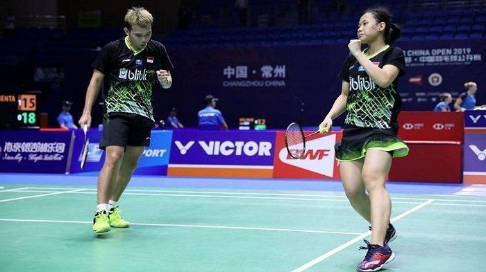 Hasil Korea Open 2019: Rinov/Pitha Melaju ke Semifinal setelah Atasi Juara Bertahan