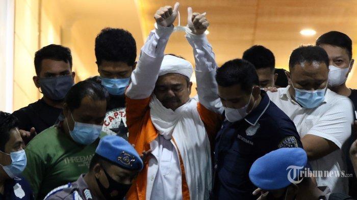 Polisi Tahan Rizieq Shihab 20 Hari hingga 31 Desember di Rutan Polda Metro Jaya