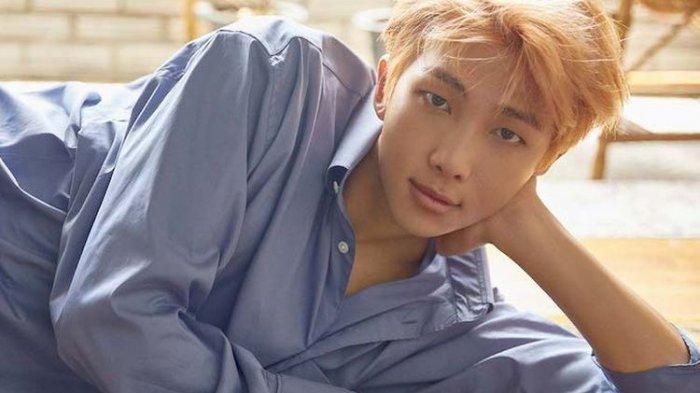 Member BTS RM alias Kim Namjoon.