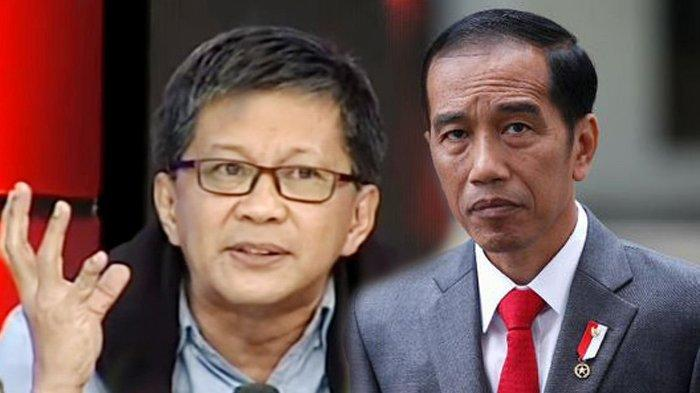 Rocky Gerung Sebut Pernyataan Jokowi Paradoks: Setelah Ngomong Kritik, Ditunggu UU ITE