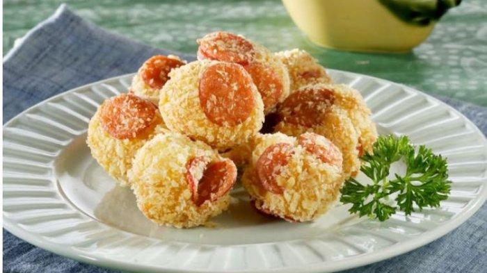 Resep Buka Puasa Praktis Sajian Roti Goreng: Roti Goreng Sosis dan Roti Goreng Rolade